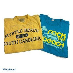 Vintage style Myrtle Beach Tshirt Bundle Large